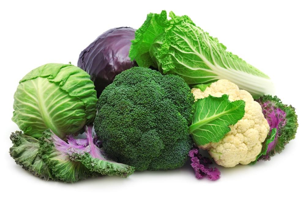 крестоцветные овощи - источники серы