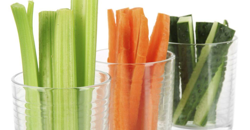 Овощи для жевания