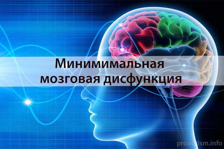 Минимальные мозговые дисфункции у детей