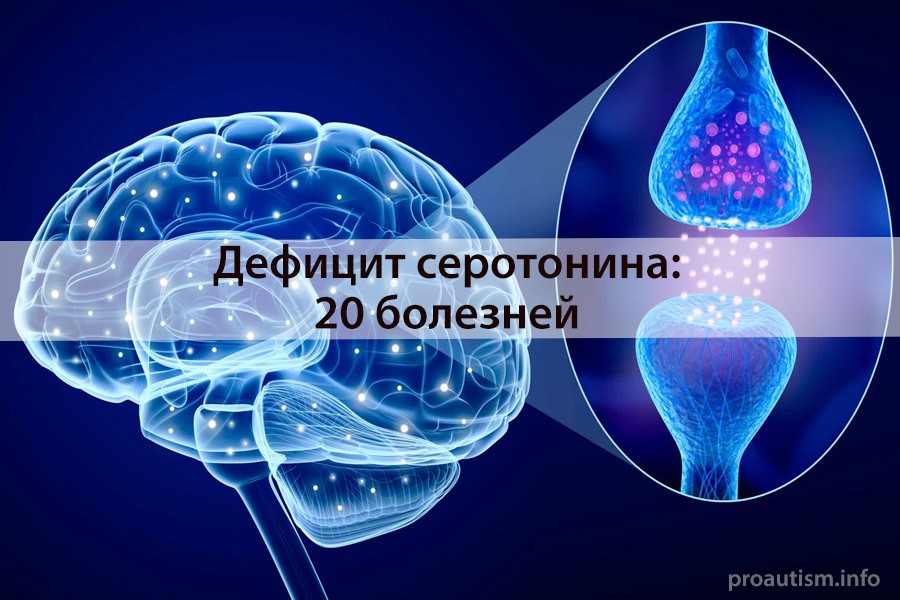 20 проблем со здоровьем, вызванных дефицитом серотонина