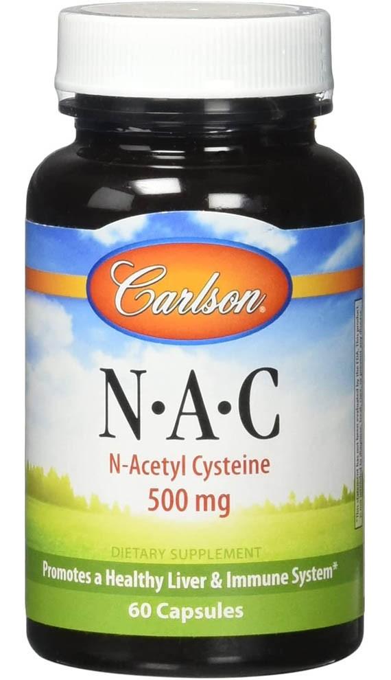 Carlson NAC, N-Acetyl Cysteine